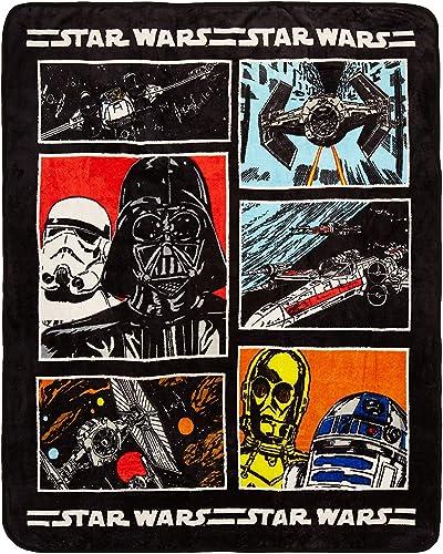 Disney Star Wars Règle Couvre-lit, Classique, Throw