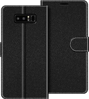COODIO Funda Samsung Galaxy Note 8 con Tapa, Funda Movil Samsung Note 8, Funda Libro Galaxy Note 8 Carcasa Magnético Funda para Samsung Galaxy Note 8, Negro