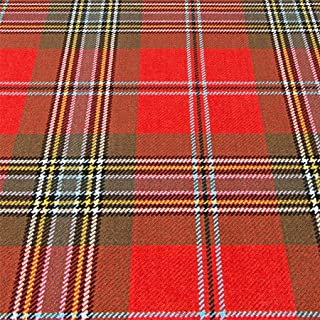 iLuv 16oz Fabric Material MacLean of Duart Weathered Tartan Heavy Weight 1 Metre