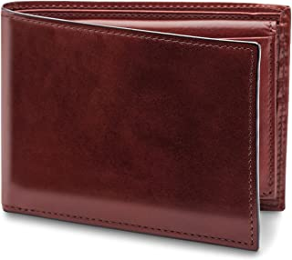Men's Credit Italian Leather Wallet With I.D. Passcase
