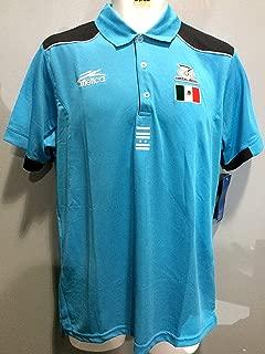 Mexico Sky Blue Polo Shirt Olympics London 2012 Atletica Polo