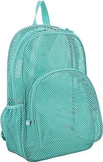 446e5d14dd Eastsport Mesh Backpack with Padded Shoulder Straps, Turquoise