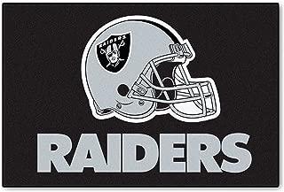 NFL Oakland Raiders Nylon Face Starter Rug