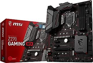 MSI Enthusiastic Gaming Intel Z270 DDR4 VR Ready HDMI USB 3 ATX Motherboard (Z270 GAMING M3)