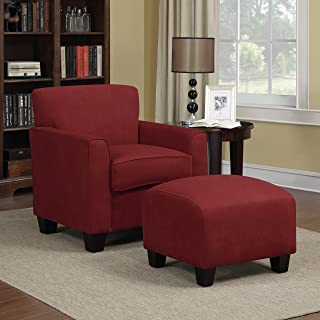 oversized round chair with ottoman