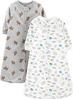 Baby 2-Pack Microfleece Sleepbag Wearable Blanket