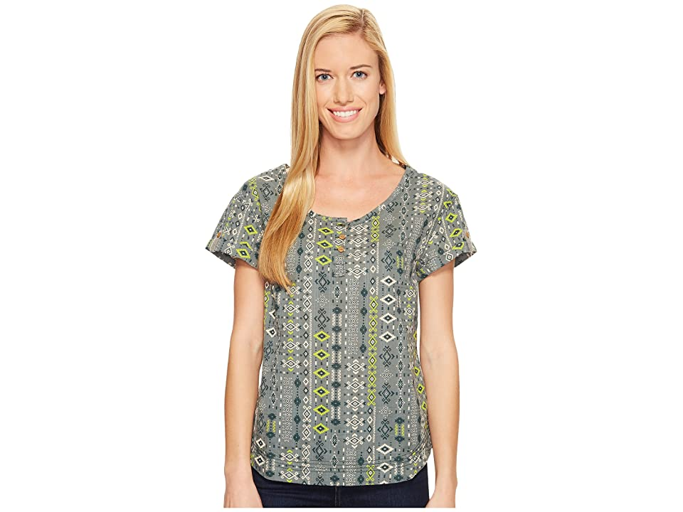 Woolrich Twin Pines Eco Rich Shirt (Balsam Green) Women's Clothing