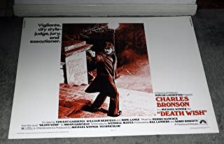 DEATH WISH original ROLLED 22x28 1974 movie poster CHARLES BRONSON