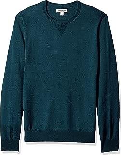 Men's Merino Wool Crewneck Sweater