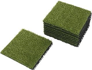 Ikea Outdoor Deck and Patio Interlocking Flooring Tiles (Artificial Grass)