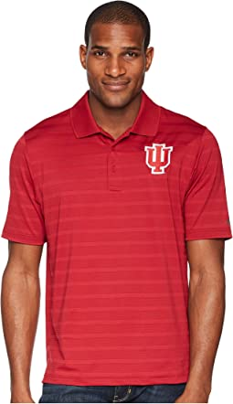 Indiana Hoosiers Textured Solid Polo