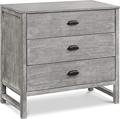 DaVinci Fairway 3-Drawer Dresser in Cottage Grey