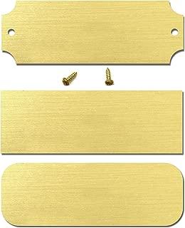 trophy plates blank