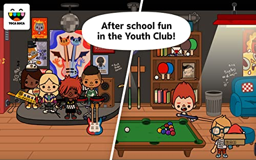 『Toca Life: School』の3枚目の画像