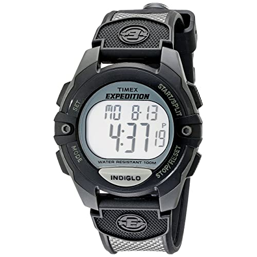 d96e45316e90 Timex Men's Expedition Classic Digital Chrono Alarm Timer Full-Size Watch
