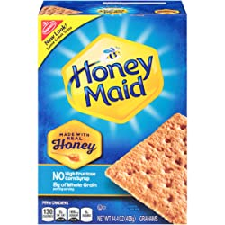Honey Maid Graham Crackers | Great for S'mores | 14.4 ounce box