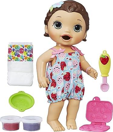 fc3085642b Boneca Baby Alive Lanchinhos Divertidos Hasbro Morena