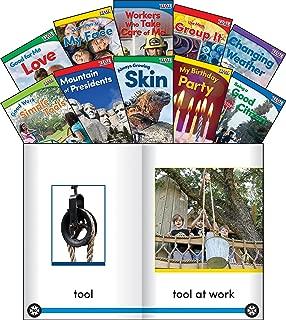 Teacher Created Materials - TIME for Kids Informational Text Set 3 - 10 Book Set - Grade K