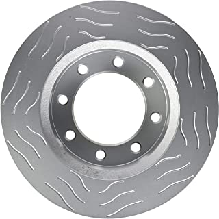 Note: SRW; 363mm; 4WD Stirling 2014 For Ford F-250 Super Duty Front Disc Brake Rotors and Ceramic Brake Pads 4WD