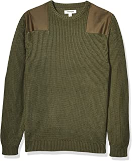 Men's Soft Cotton Military Sweater