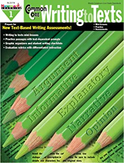 Newmark Learning Grade 1 Common Core Writing to Text Book (CC Writing)