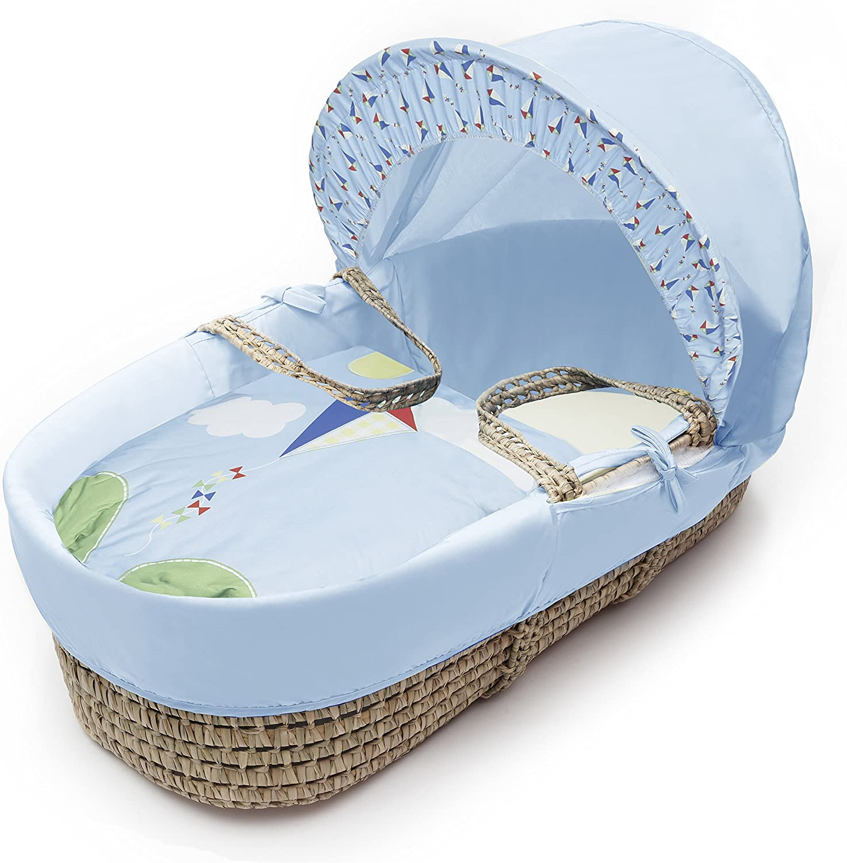 Kinder Valley Kite bluee Moses Basket