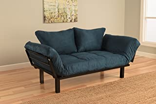 KEBO FUTON COUCH SOFA BED LOUNGE CHAIR LOUNGER FOLD OUT CONVERTIBLE BLACK NEW