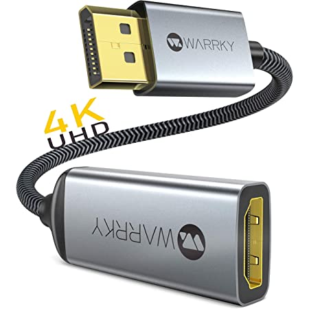 Aluminium DP to HDMI Adapter with Audio iVANKY DisplayPort to HDMI Adapter