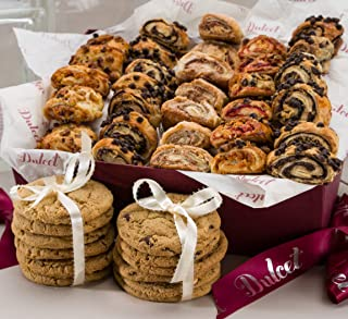 Dulcet Gift Basket Sweet Success Gourmet Cookie Snacks ideal Gift Basket for Christmas Holiday Idea For Men & Women, Birthday, Get Well Corporate Baskets
