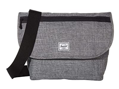 Herschel Supply Co. Grade Mid-Volume (Raven Crosshatch) Messenger Bags