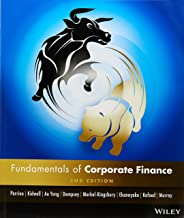 Fundamentals Of Corporate Finance 2e Australasian+Fundamentals Of Corporate Finance Australasian 2nd Edtion WileyPLUS Stand-Alone Card