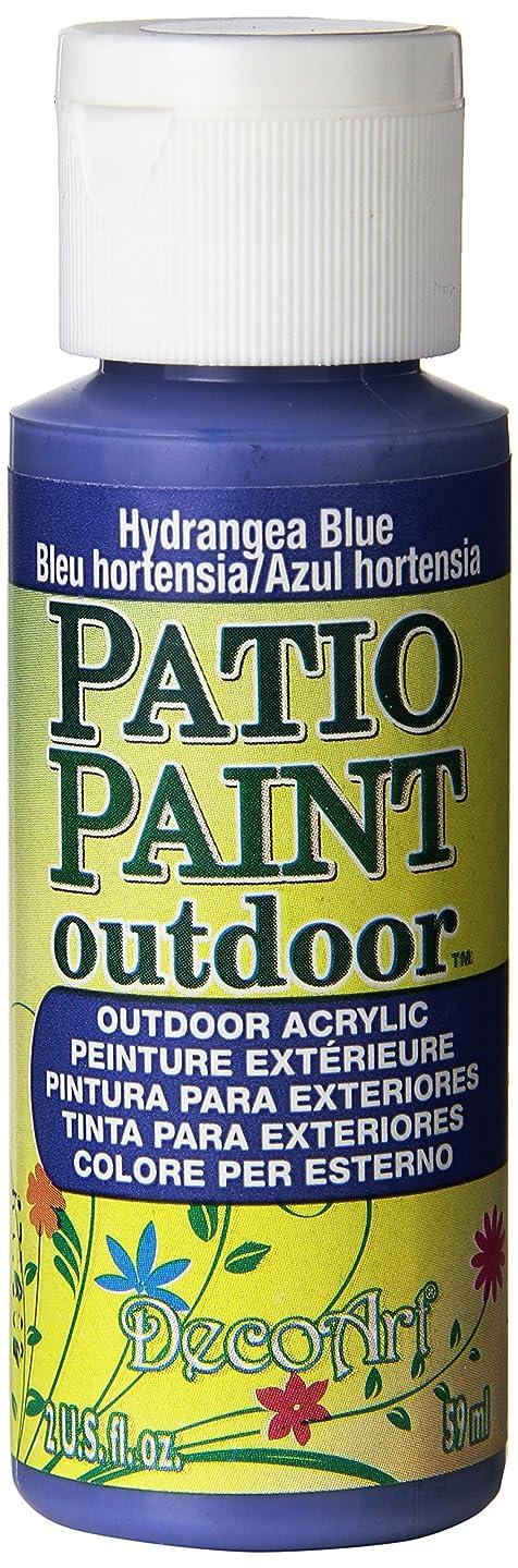 DecoArt Patio Paint, 2-Ounce, Hydrangea Blue