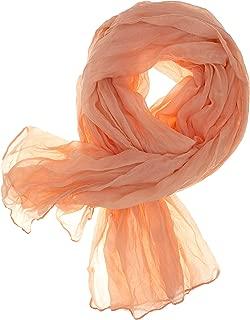 DOLCE ABBRACCIO by RiemTEX Schal Damen CRAZY MAMA Tuch aus MASH mit Baumwolle Tücher 18 in Unifarben Halstücher Knitter Schals Damen Halstuch leichter Chiffon Ganzjährig