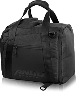 ANGU SPORTS Exclusive Ski Boot Bag | Travel Luggage for Ski Gear, Boots, Gloves, Helmet, Goggles & Extras | Boot Bag for Snowboard- & Skis | Perfect for Air Travel | Quality Zippers | Ski Boot Bag