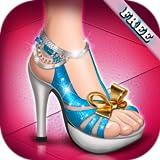 Talons hauts chaussures filles - jeu de chaussures pour fille et enfants ! gratuit