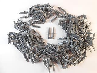 Lego DAGGER Knife Weapon Lot of 50 PCS -Dark Bluish Gray- Indiana Jones Castle 100 knifes