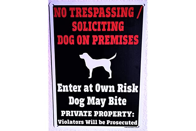 Best Bad Dog Signs For Fence Amazoncom