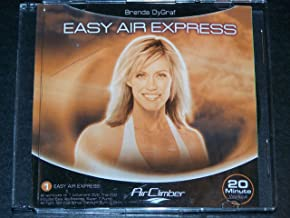 AirClimber Easy Air Express, Super 7 Pump, Airtight Abs, Platinum Burn & Firm DVD 4-20 Minute Exercise Workouts for Air Climber ((DVD only, not a book))