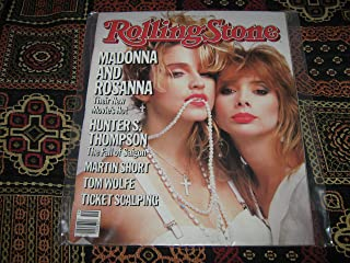Rolling Stone Magazine (Madonna snd Rosanna , Their New Movie's Hot, May 9 , 1985)