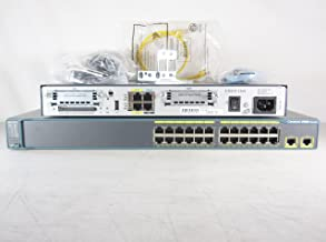 Cisco Systems CCNA CCNP CCIE SECURITY Lab WS-C2960-24TT-L Switch and a Cisco 1841 ISR Router