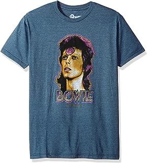 سائل أزرق David Bowie زيجي كبير ذو كم قصير