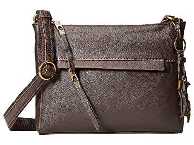 The Sak Alameda Crossbody (Cocoa) Cross Body Handbags