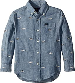 Polo Ralph Lauren Kids - Linen-Cotton Chambray Shirt (Toddler)