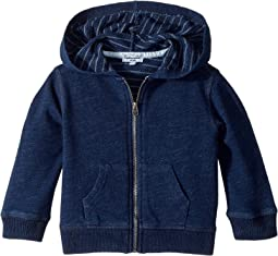 Splendid Littles - Always Baby French Terry Indigo Hoodie (Infant)