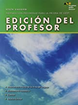 Steck-Vaughn Pre-GED: Test Preperation Instructor's Edition Spanish (Spanish Edition)