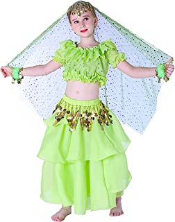 Halloween Costumes Set for Kids Belly Dancing