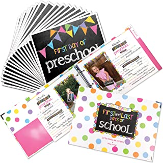 Class Keeper (Set Pastel Dots and Pennant Flags Signs)