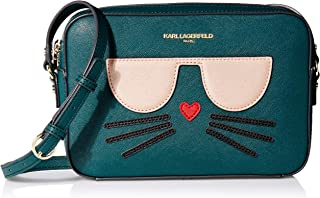 Karl Lagerfeld Paris womens Maybelle Choupette Camera Crossbody