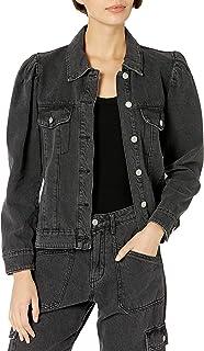 KENDALL + KYLIE Women's Puff Sleeve Denim Jacket - Amazon Exclusive