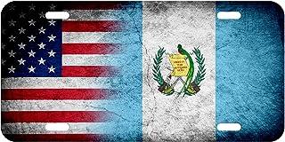 License Plate–Bandera de Guatemala–Elija su diseño